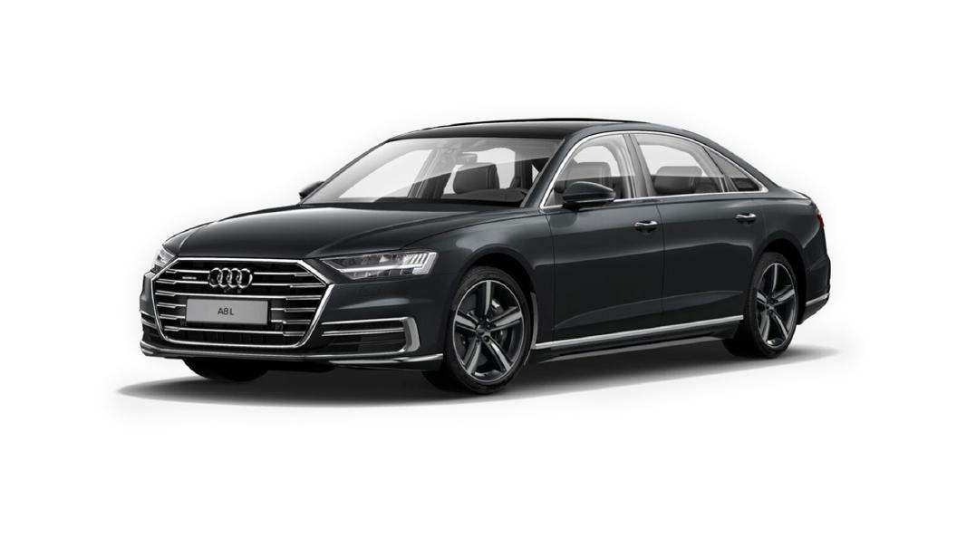 Audi  A8 L Vesuvius Gray Metallic Colour