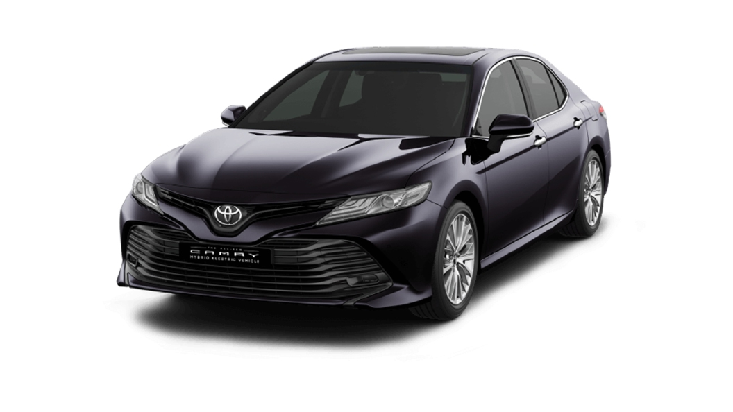 Toyota  Camry Burning Black Colour