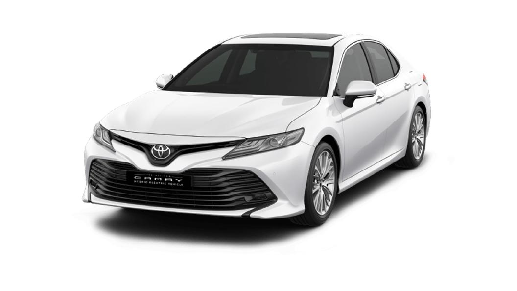 Toyota  Camry Platinum White Pearl Colour