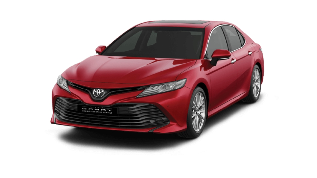 Toyota  Camry Red Mica Colour