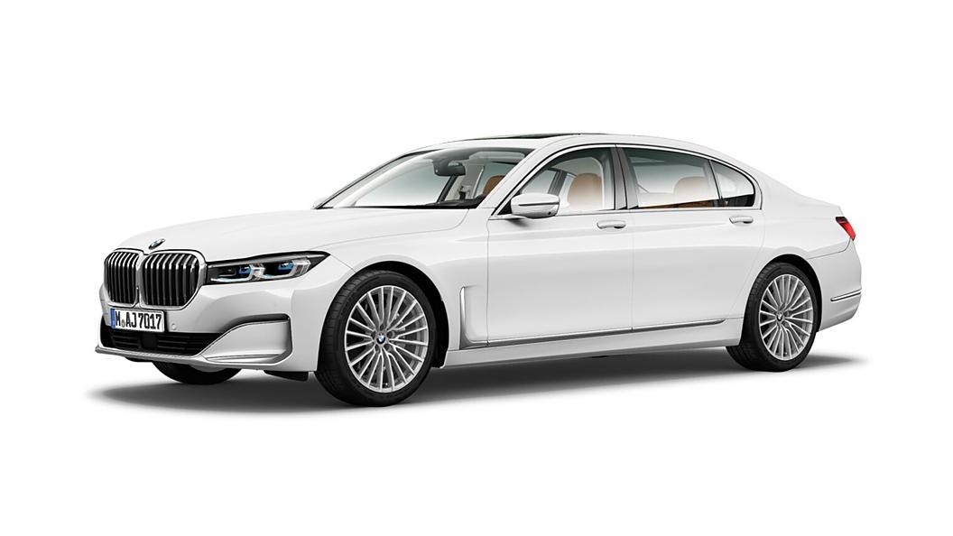 BMW  7 Series Alpine White Colour