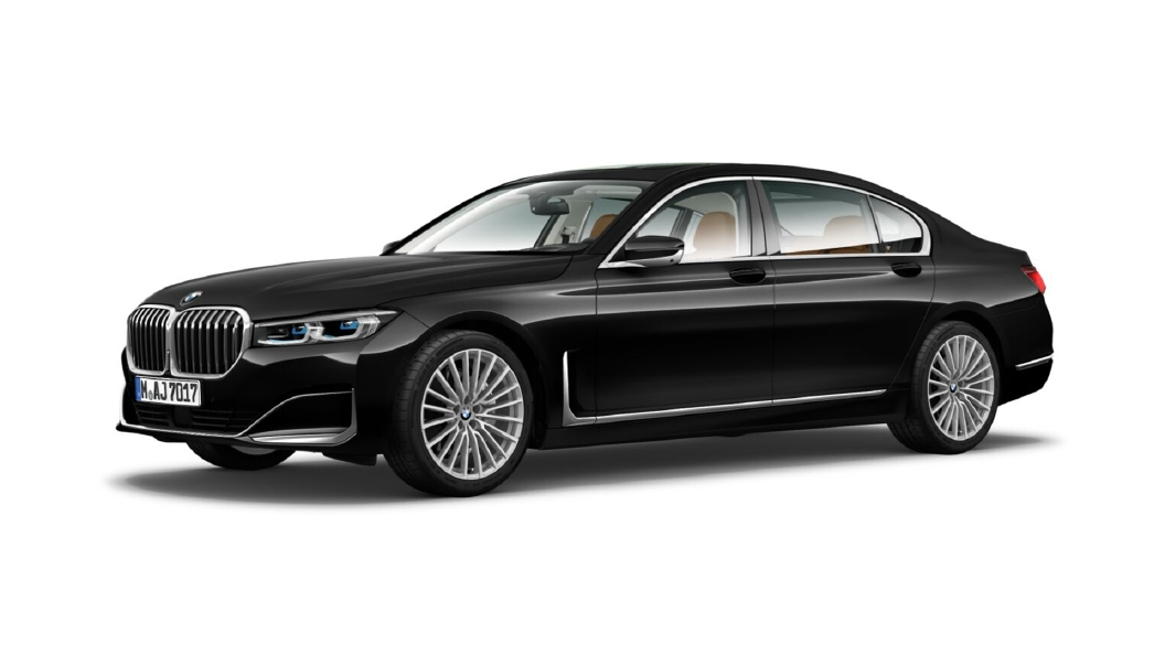 BMW  7 Series Black Sapphire Colour