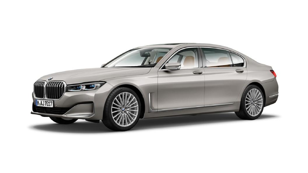 BMW  7 Series Cashmere Silver Metallic Colour