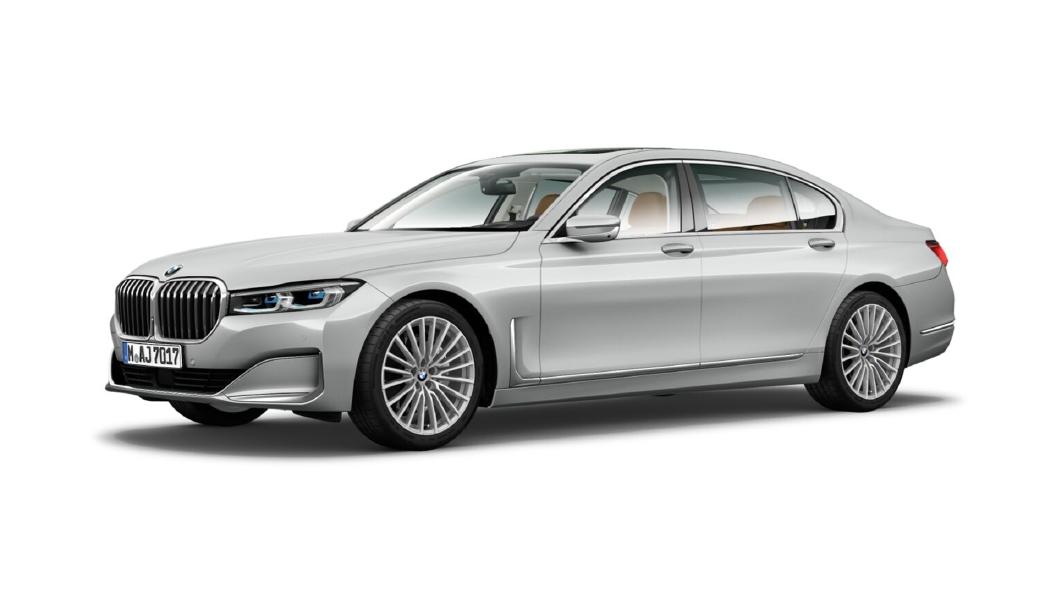 BMW  7 Series Glacier Silver Metallic Colour