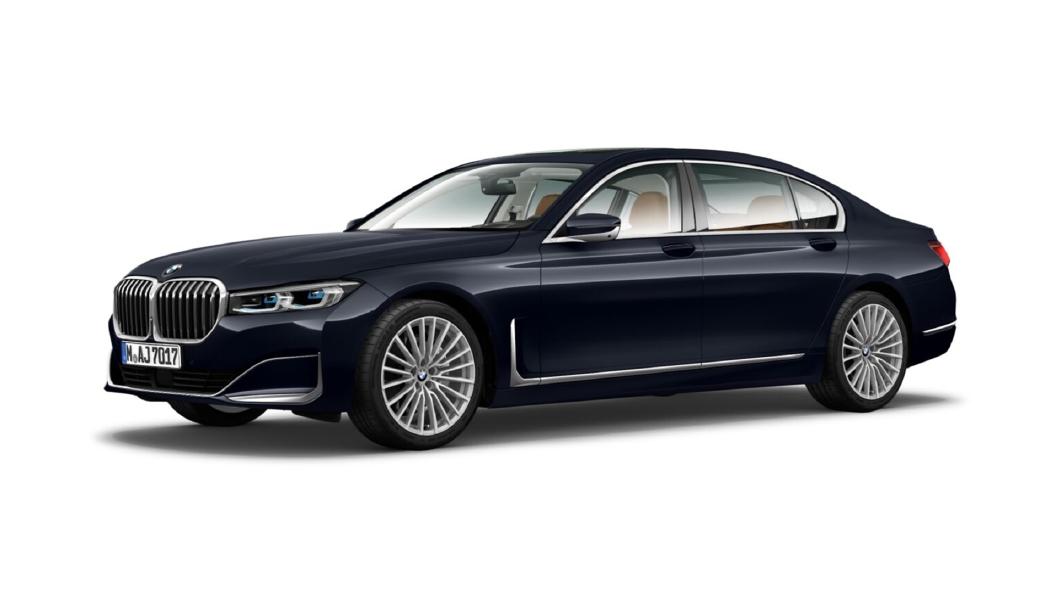 BMW  7 Series Imperial Blue Brilliant Effect Colour