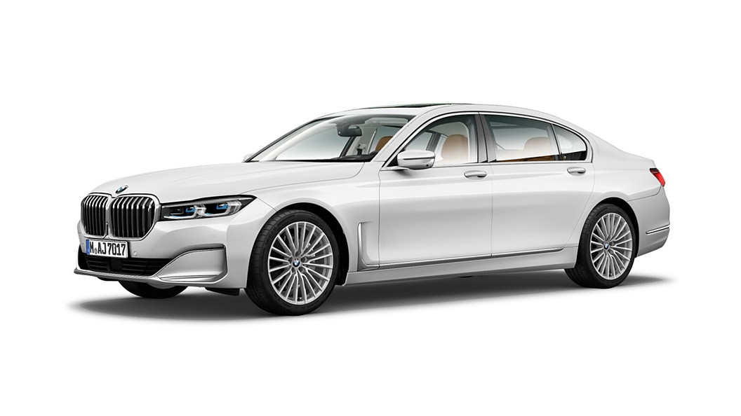 BMW  7 Series Mineral White Metallic Colour
