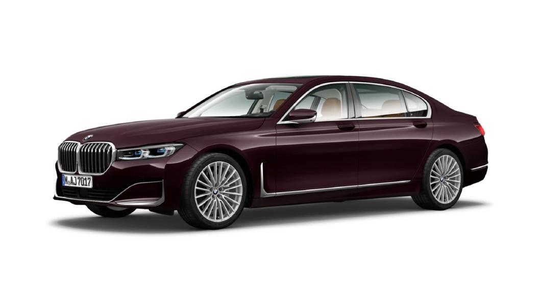 BMW  7 Series Royal Burgundy Brillant Effect Colour