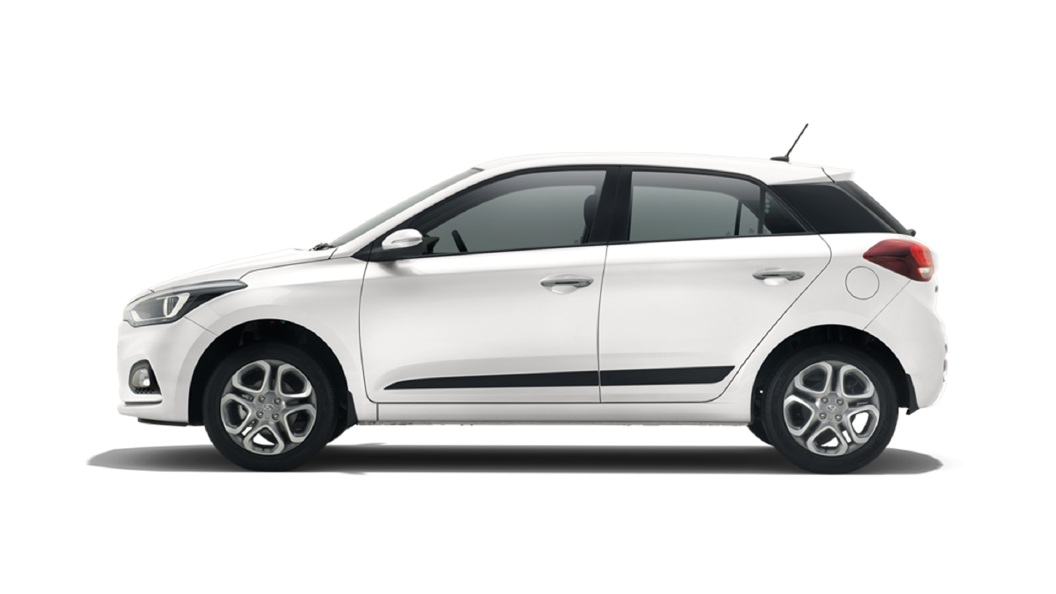 Hyundai  Elite i20 Polar White Colour