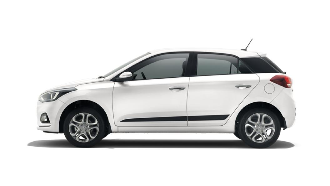 Hyundai  Elite i20 Polar White Colour