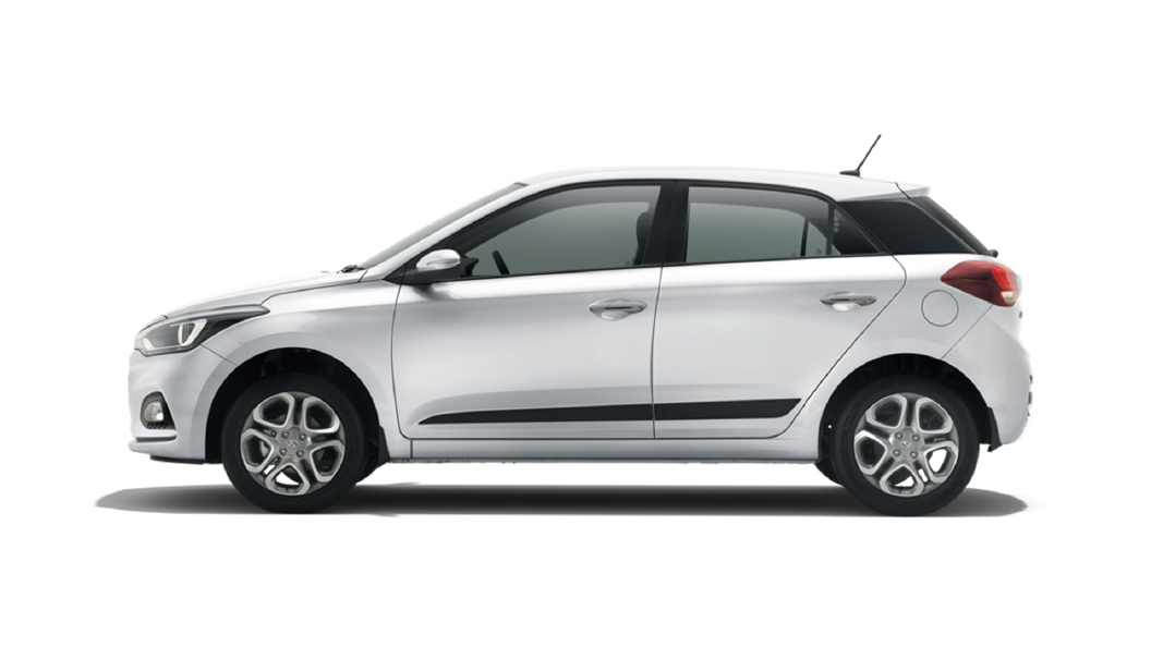 Hyundai  Elite i20 Typhoon Silver Colour