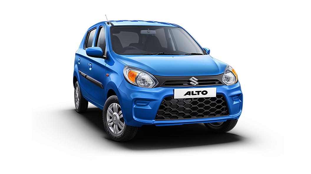 Maruti Suzuki  Alto Cerulian Blue Colour