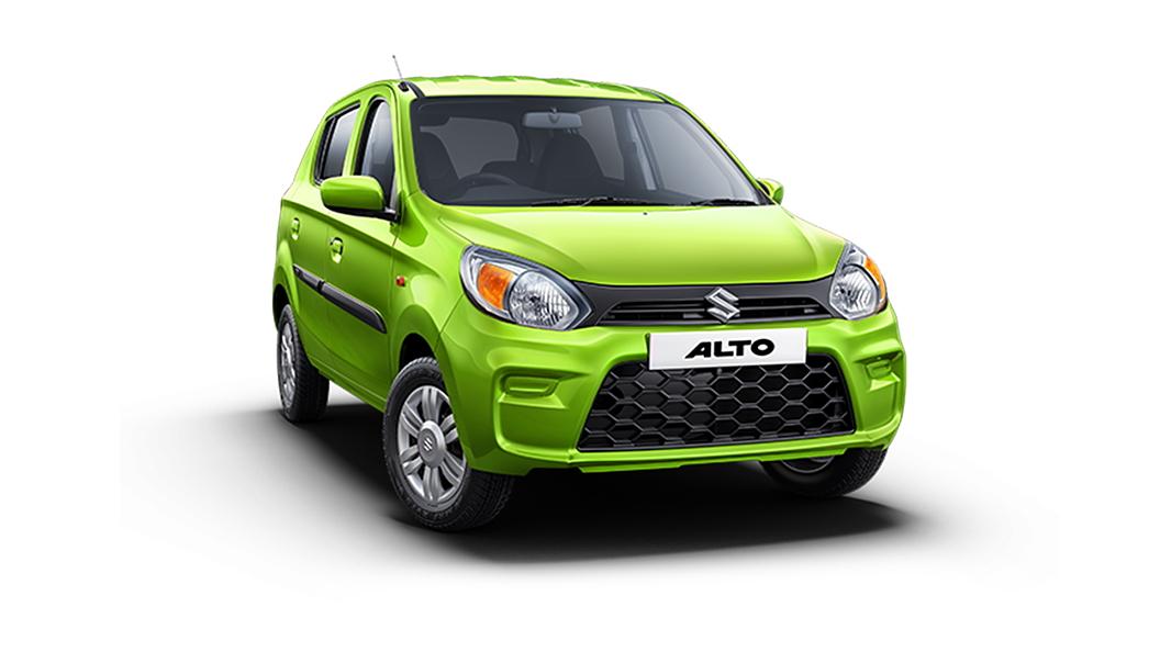 Maruti Suzuki  Alto Mojito Green Colour