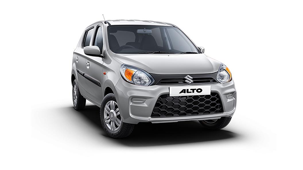 Maruti Suzuki  Alto Silky Silver Colour