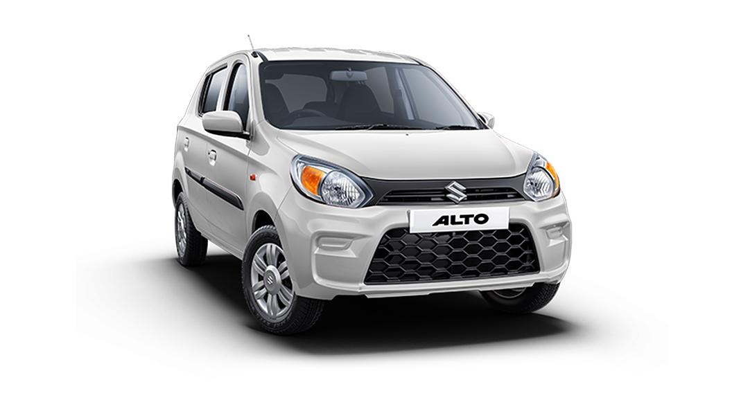 Maruti Suzuki  Alto Solid White Colour
