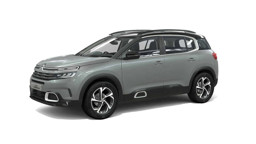 Citroen  C5 Aircross Cumulus Grey with Black Roof Colour
