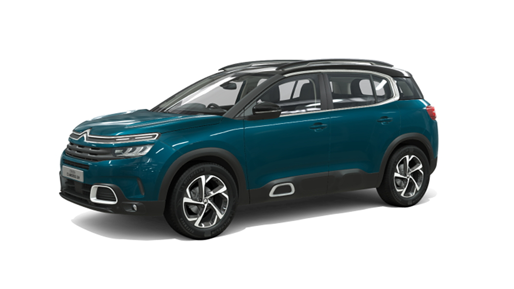 Citroen  C5 Aircross Tijuca Blue with Black Roof Colour