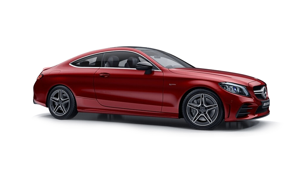 Mercedes Benz  C-Coupe Designo Hyancith Red Colour