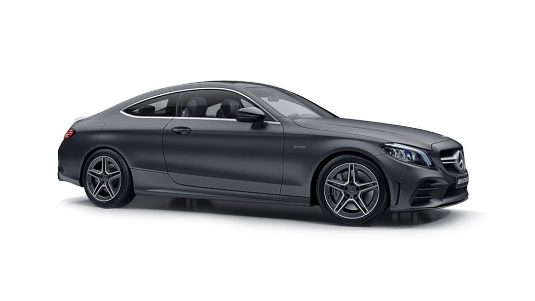 Mercedes Benz  C-Coupe Designo Selenite Grey Magno Colour