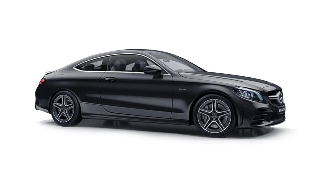 Mercedes Benz  C-Coupe Graphite Grey Colour