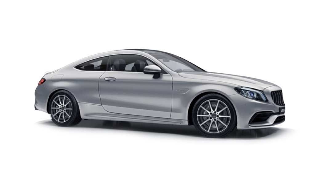 Mercedes Benz  C-Coupe Iridium Silver Colour