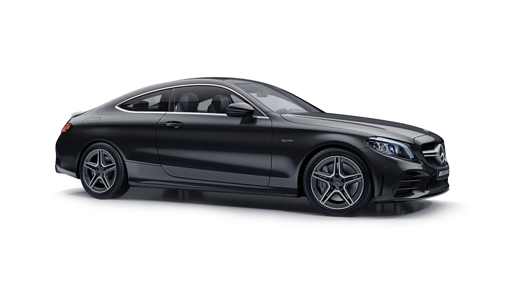 Mercedes Benz  C-Coupe Obsidian Black Colour