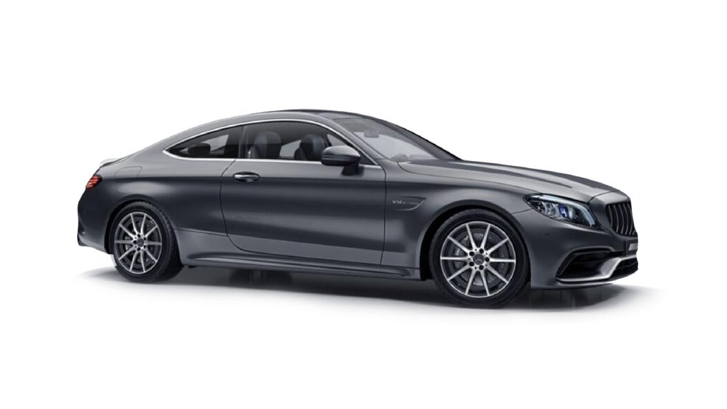 Mercedes Benz  C-Coupe Selenite Grey Metallic Colour