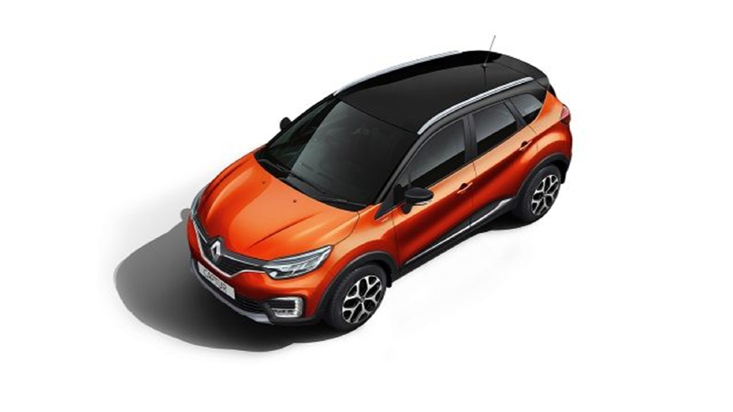 Renault  Captur Cayenne Orange/Mystery Black Colour