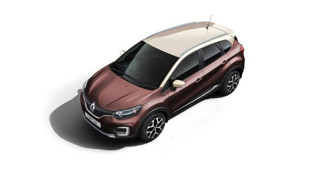 Renault  Captur Mahogany Brown/Marble Ivory Colour