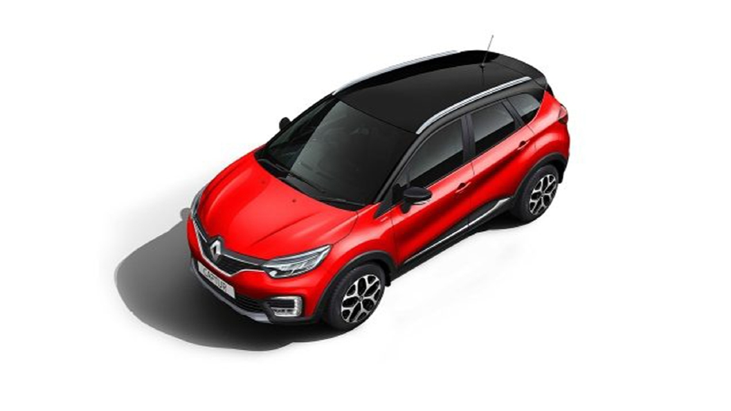 Renault  Captur Radiant Red/Mystery Black Colour