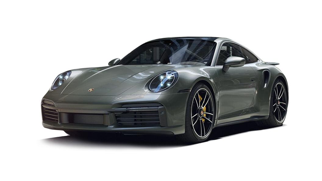 Porsche  911 Aventurine Green Metallic Colour