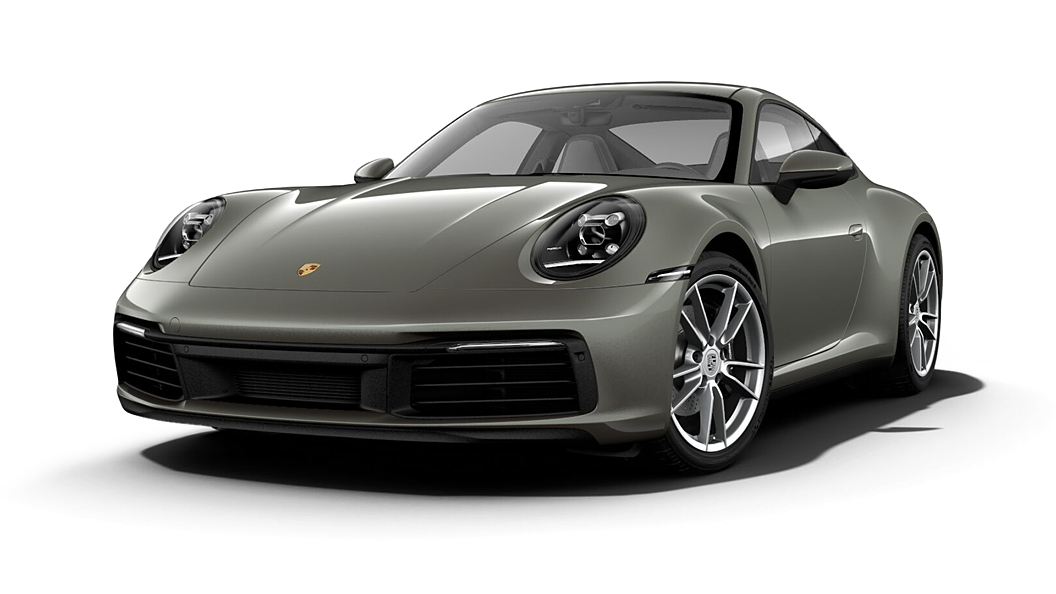 Porsche  911 Aventurine Green Metallic Colour