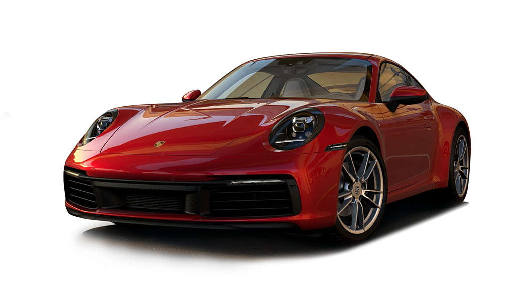 Porsche  911 Carmine Red Colour
