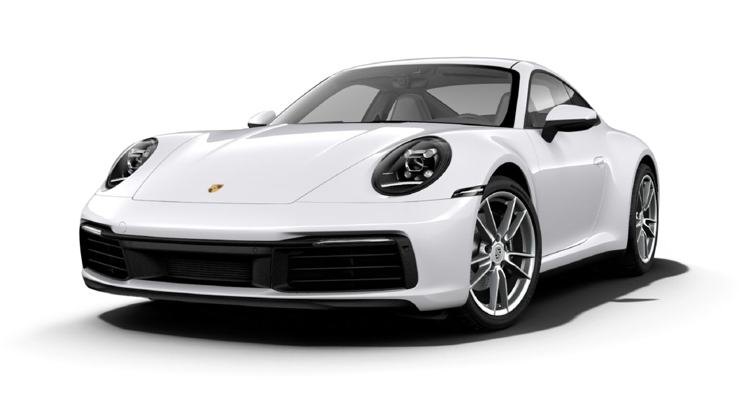 Porsche  911 Carrara White Colour