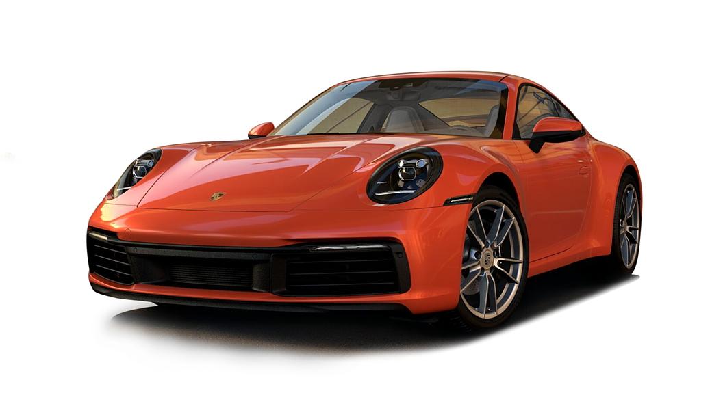 Porsche  911 Lava Orange Colour