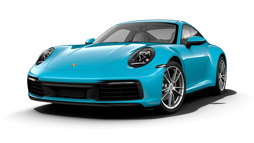 Porsche  911 Miami Blue Colour