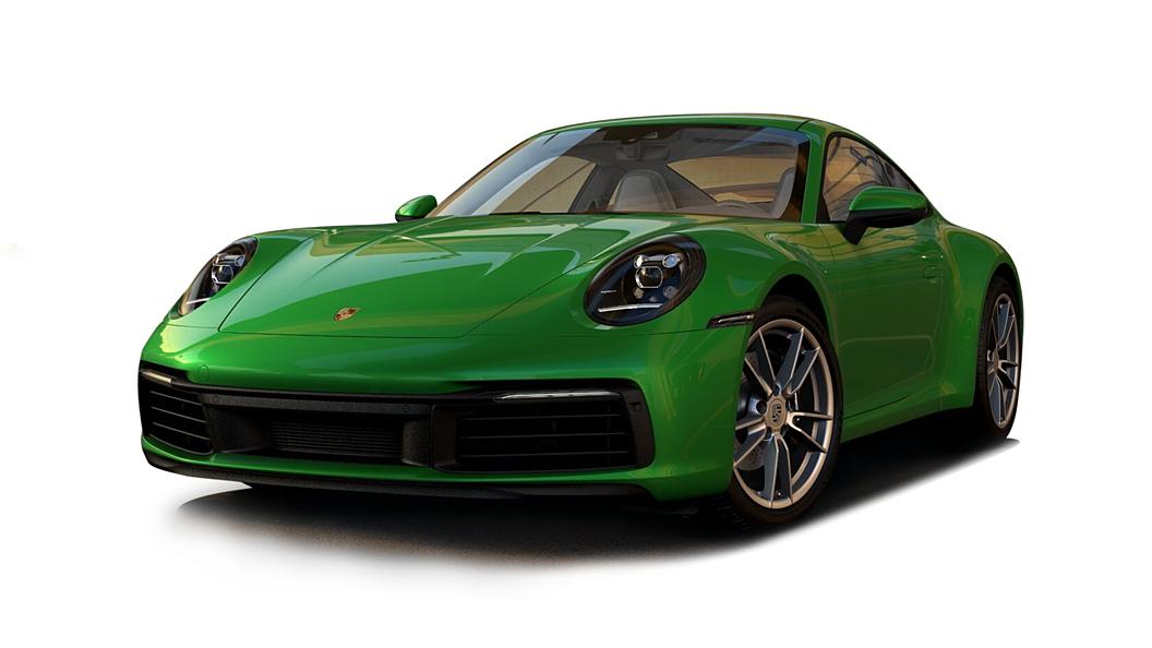 Porsche  911 Python Green Colour