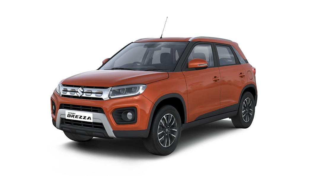 Maruti Suzuki  Vitara Brezza Autumn Orange Colour