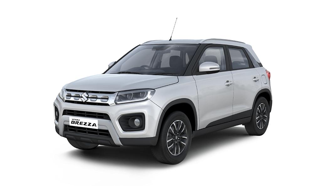 Maruti Suzuki  Vitara Brezza Pearl Arctic White Colour