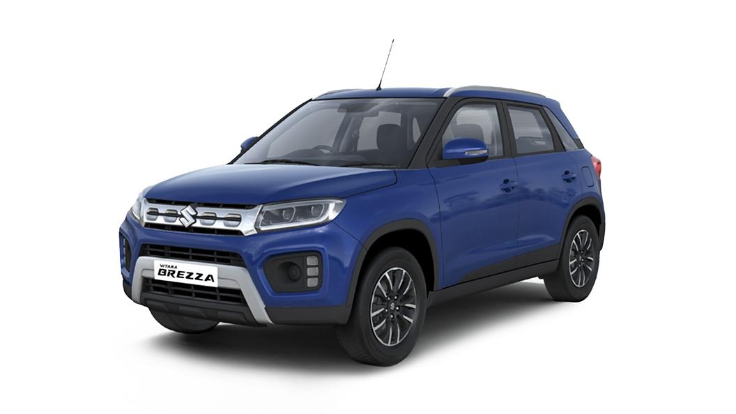 Maruti Suzuki  Vitara Brezza Torque Blue   Colour