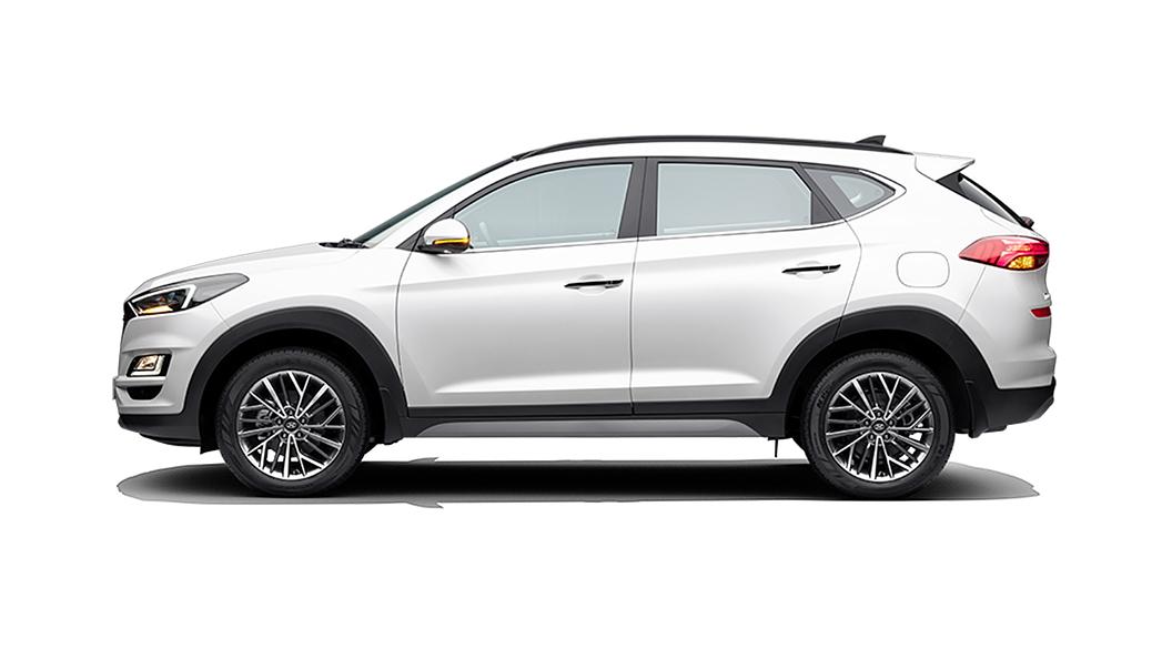 Hyundai  Tucson Polar White Colour