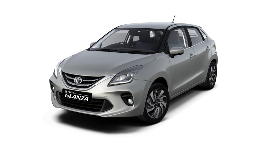 Toyota  Glanza Enticing Silver Colour