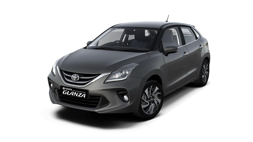 Toyota  Glanza Gaming Grey Colour