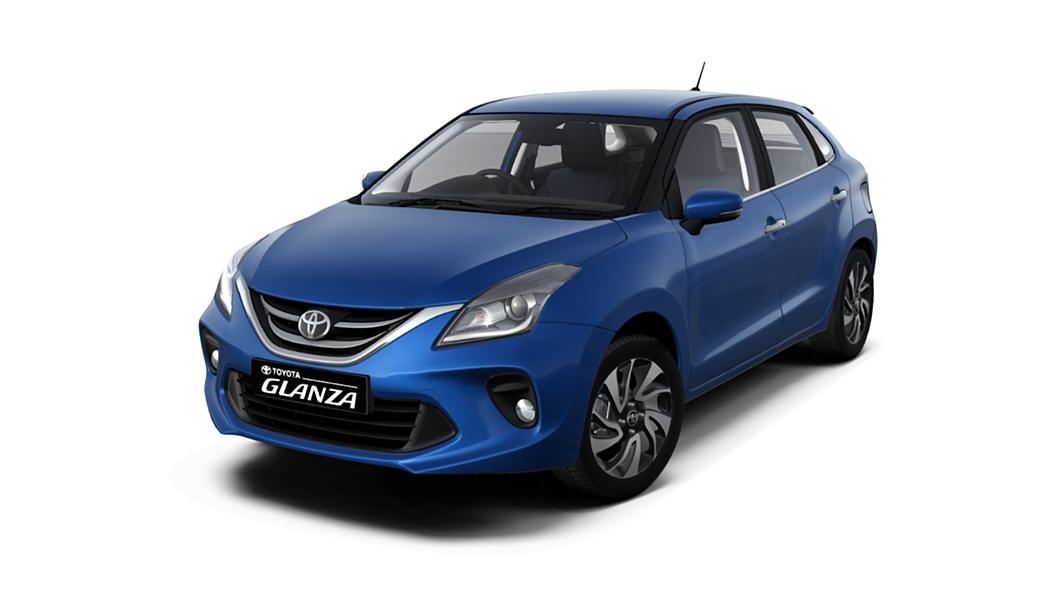 Toyota  Glanza Insta Blue Colour