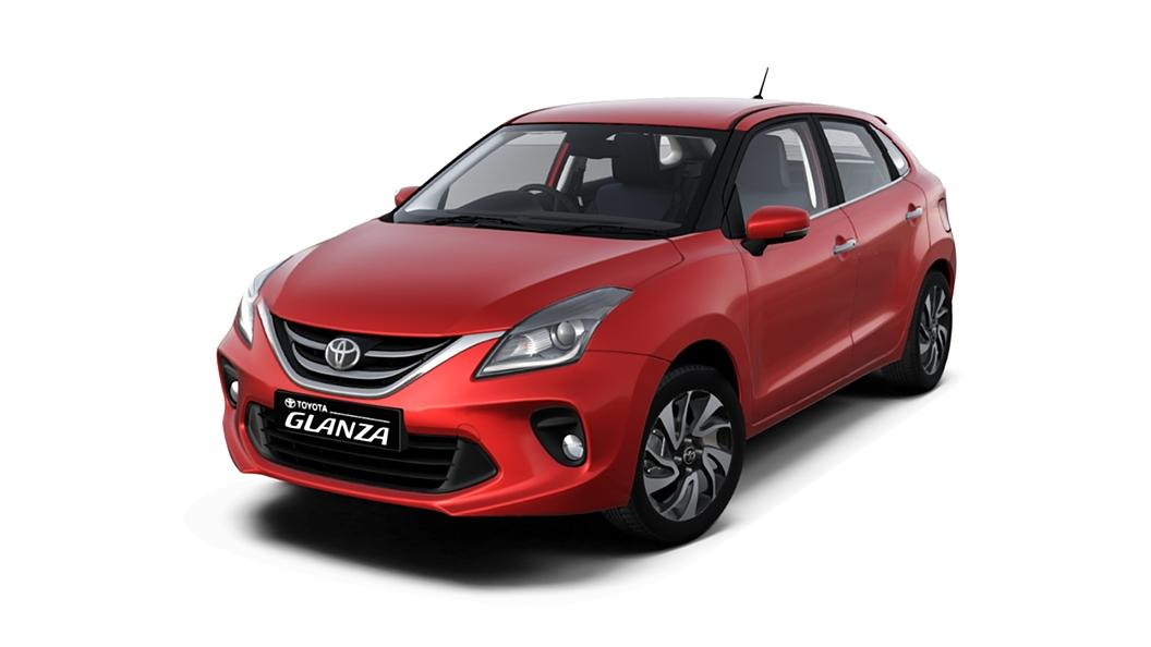 Toyota  Glanza Sportin Red Colour