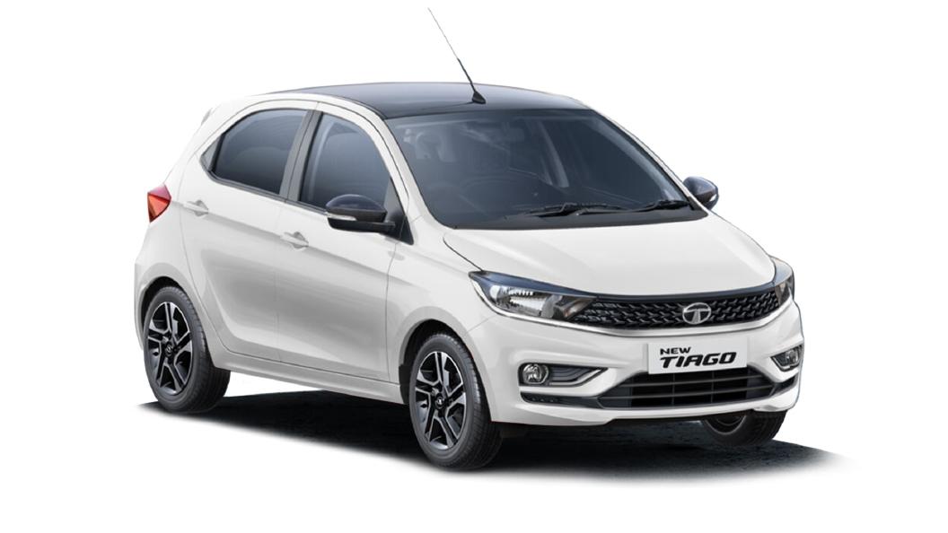 Tata  Tiago Pearlescent White Colour