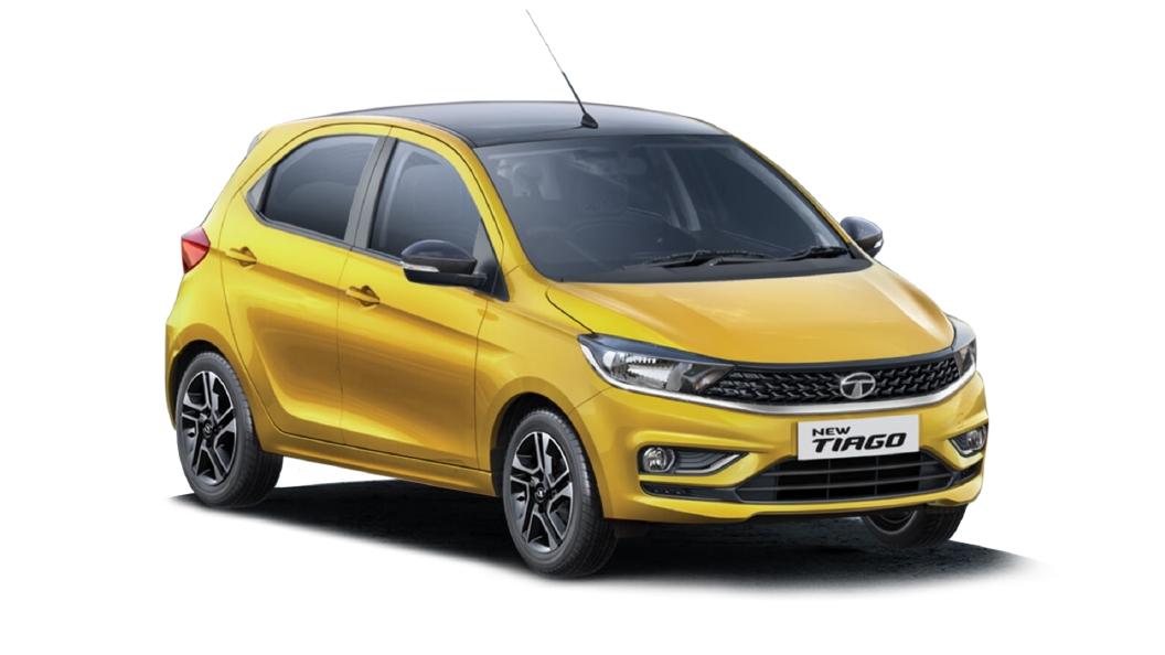 Tata  Tiago Victory Yellow Colour