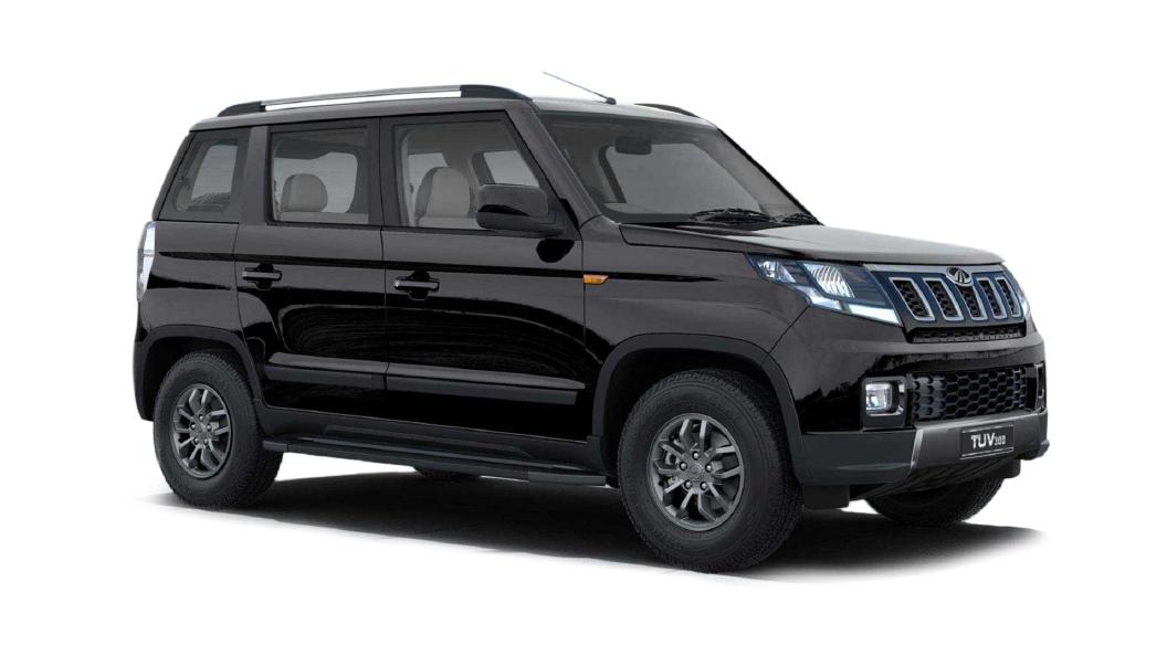 Mahindra  TUV300 Bold Black Colour