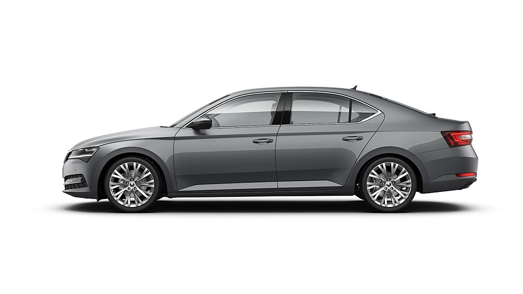 Skoda  Superb  Business Grey Colour