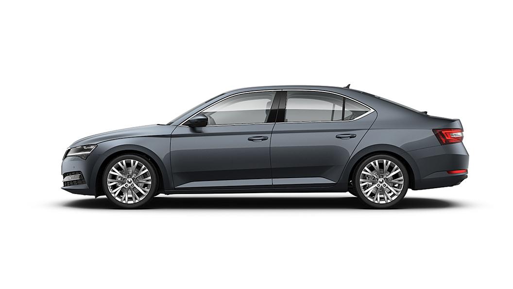 Skoda  Superb Steel Grey Colour