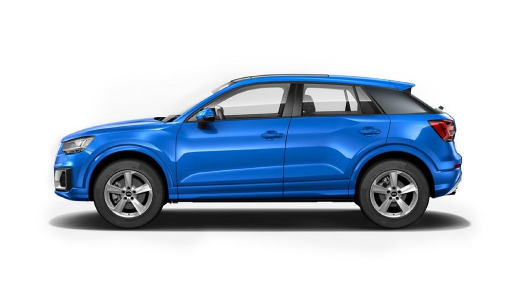 Audi  E-tron Arabian Blue Crystal Colour